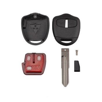 Chiave Telecomando per Mitsubishi Outlander ASX 2006-2015 434MHZ ID46 Chip MIT11 Blade 2 Tasti 1