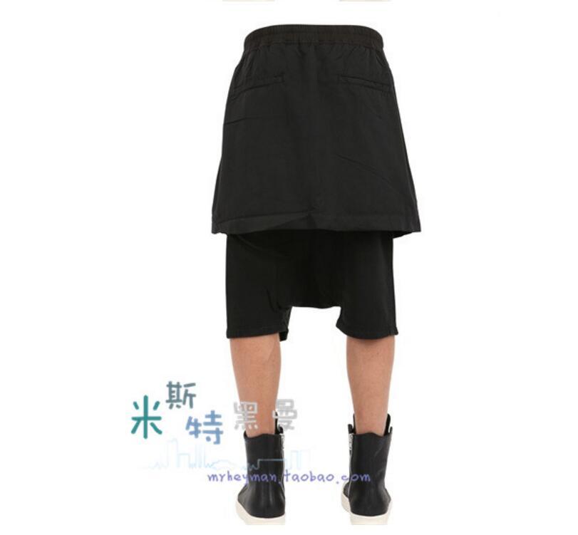 Nuevas Estilo Falso 2018 Trajes Calf Ropa Ro Bajos Entrepierna Tenedor 27 Mujeres Dos 44 Pants Pantalones Casual Abierta Falda longitud xESfRR