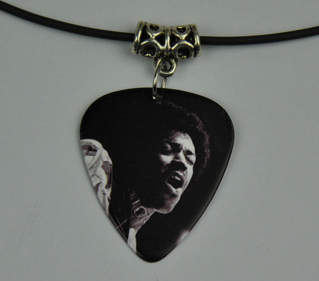 company grande pickbandz pick gift guitar black rockin products necklace sunnyside