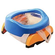 Ведрами выносными вкладыши горшок сиденья бесплатно туалет младенческой обучение кольцо складной