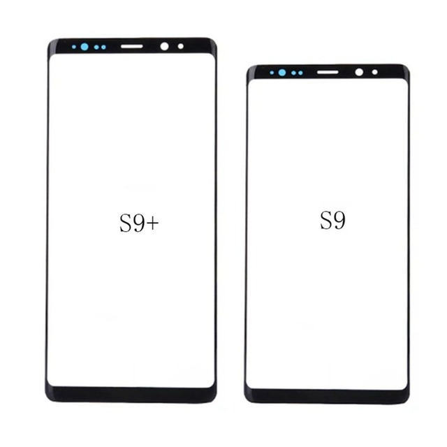 2edcb042faf LCD Touch Screen Outer Glass Replacement For Samsung Galaxy S9 S9 Plus  Black Front Screen Glass Lens Parts