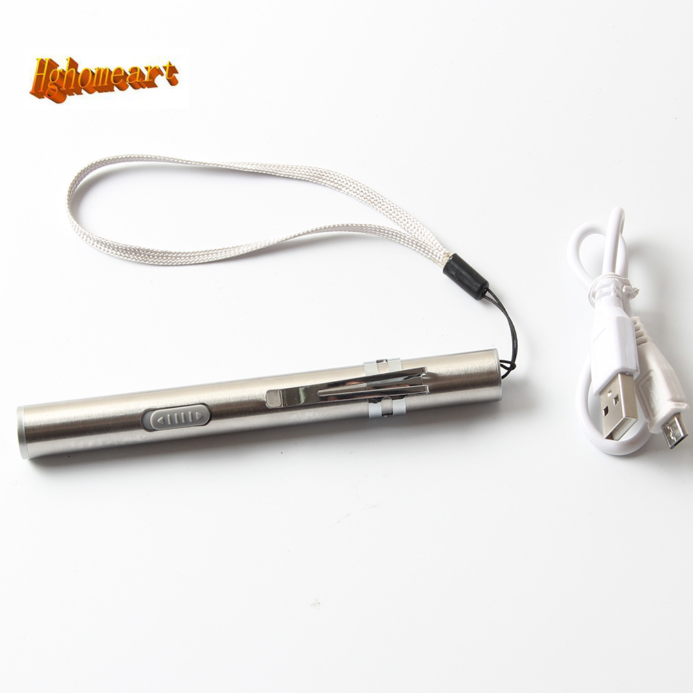 High-quality 0.5W 70mA USB Rechargeable Torch Mini Aluminum Led Flashlight Keychain Pen Hanging Key Chain with Led Light Lamp wholesale mini flashlight led keychain flashlight 2 mode key chain keyring torch teaching laser pointer light pen light for gift