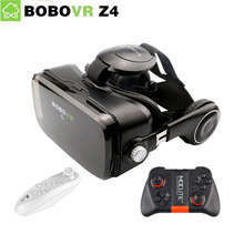 BOBOVR Z4 VR CAJA 2.0 Gafas de Realidad Virtual gafas gafas 3D google Cartón bobo vr mini auricular Para 4.3-6.0 smartphone