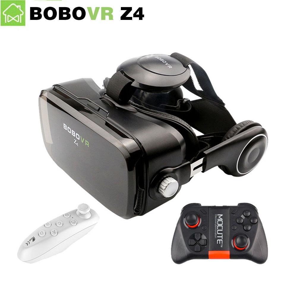 BOBOVR Z4 font b VR b font BOX 2 0 Glasses Virtual Reality goggles 3D glasses