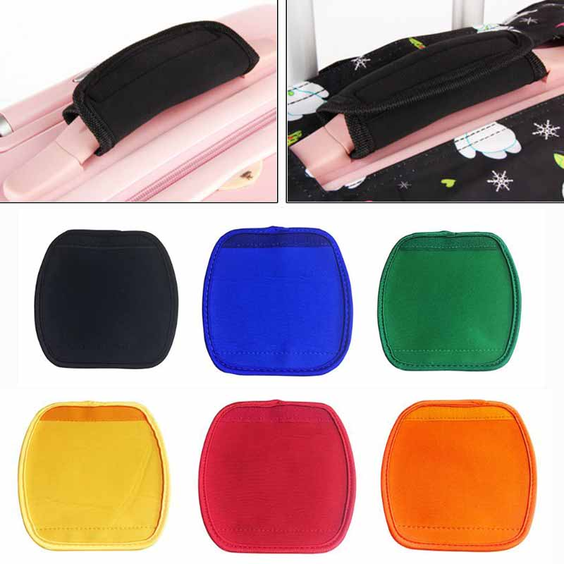 Comfortable Light Neoprene Handle Wraps Grip Identifier For Travel Bag Luggage Suitcase