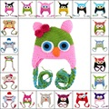 Cute Animals Owl/Monkey Children's Knitted Hats New Spring and Autumn Skullies&Beanies Caps