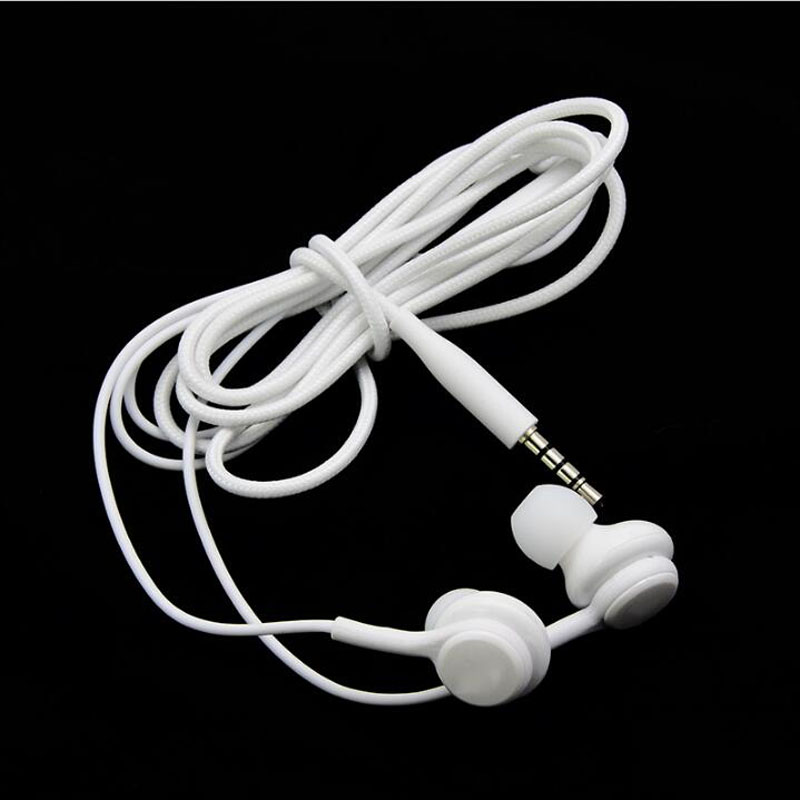 3.5mm In-Ear Stereo Earphone Microphone+Volume Control for Samsung Galaxy S8 Plus S7 S6 Edge Note 8 7 5 4 Bass Headphone Earbuds s6 3 5mm in ear earphones headset with mic volume control remote control for samsung galaxy s5 s4 s7 s6 note 5 4 3 xiaomi 2