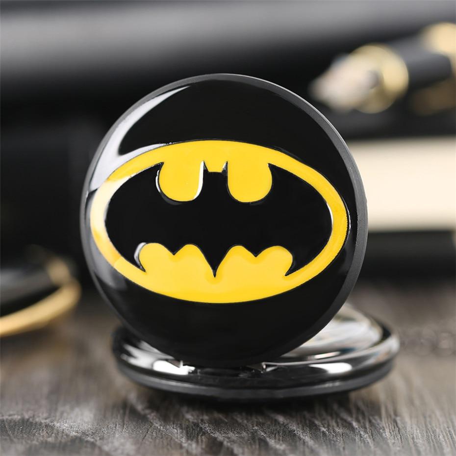 pendant watch, batman pocket watch, birthday gifts for boys, (5)