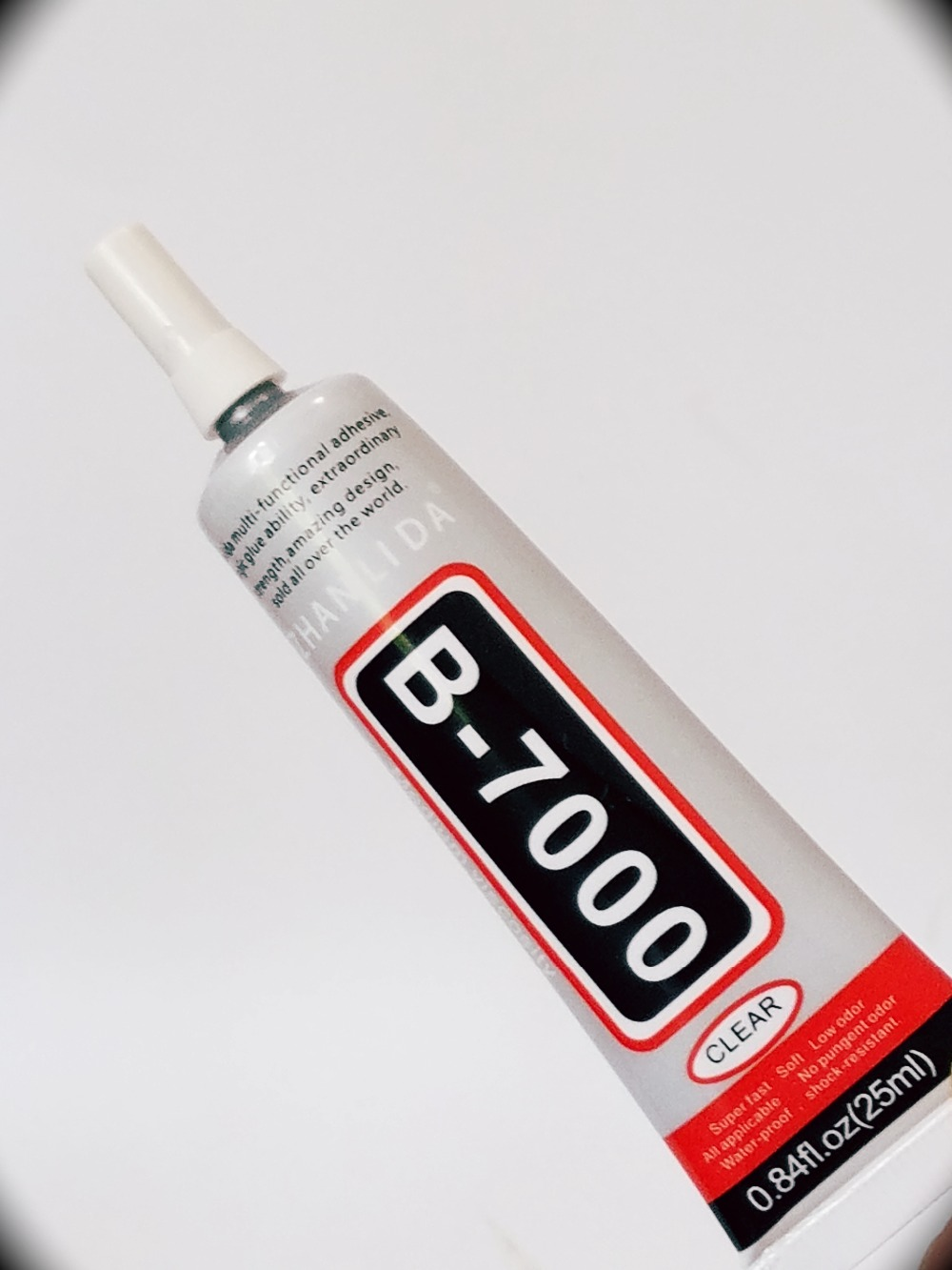 ZHANLIDA 25ml B-7000 UV glue LOCA Liquid optical clear adhesive Transparent for Cellphones LCD repair Hot sale image