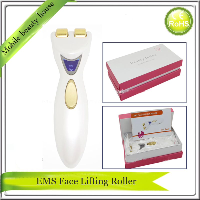 LCD Display Bio Microcurrent EMS Face Muscle Collagen Stimulatior Derna Spa Face Lift  Roller Facial Massager Free Shipping lc171w03 b4k1 lcd display screens