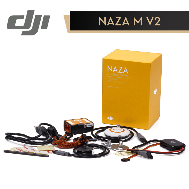 DJI Naza V2 Flight Controller ( Includes GPS )Naza-M Naza M V2 Fly Control Combo for RC FPV Drone Quadcopter Original drone dji spark fly more combo 1080p new mini portable fpv drone dji quadcopter 100% original