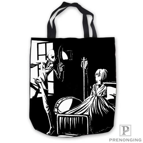 58c4a12ca806 Пользовательские холст gerard_way _ old_art_Tote сумки сумка-шоппер  Повседневное пляжные сумки Складная 180713-08-24