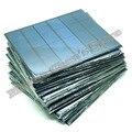 10 unids/lote 6 V 0.6A 3.5 W mini paneles solares pequeños sistemas de energía solar 3.6 v de carga de batería solar llevó la luz de gota libre 10000596