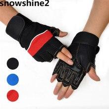 Snowshine2 #3001 Открытый Спорт Тренажерный Зал Тренировка Атлетический Перчатки Без Пальцев бесплатная доставка оптовая