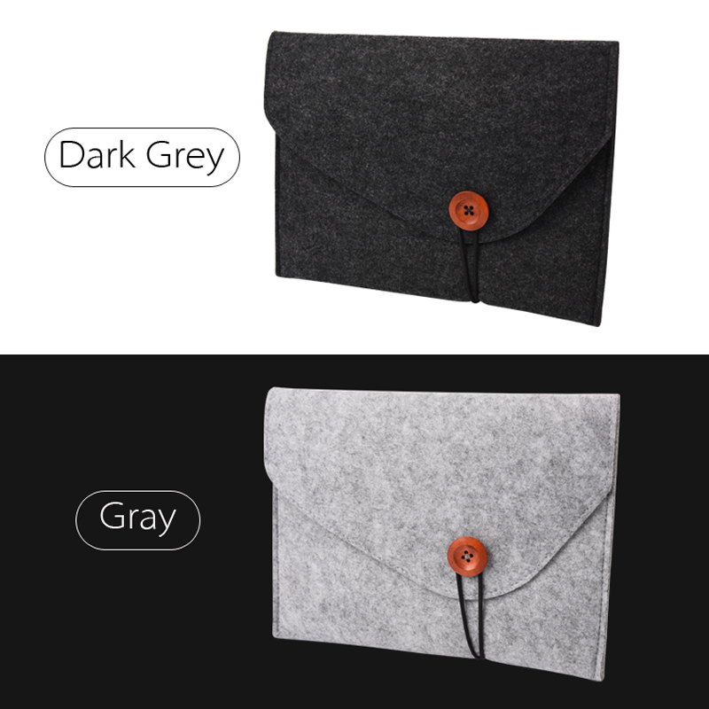 Купить с кэшбэком Sleeve Bag Pouch Case For Apple iPad Pro 10.5 inch high quality Shockproof  Wool Felt Tablet Sleeve Bag Computer Notebook Cover