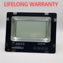hot deal buy lifelong warranty 300w led floodlight ip65 waterproof outdoor led flood lights daylight white ac110-265v led spotlights