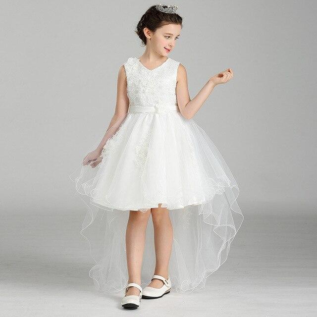 Eleganten Fischschwanz Mädchen Weiss Tutu Prinzessin Kleid Baby ...