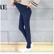 Pregnant Jeans Pants 2019 Spring Maternity Denim Pencil Trousers  For Pregnancy Women Stretchy Waist Capris Clothing  E0001 цена и фото