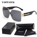 Unisex Mirror sunglasses brand of Feminine Eyewears square aluminum Accessories Sunglasses for men