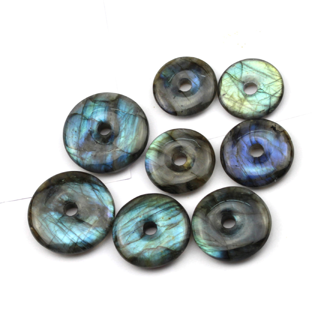 4mm 15/'/' Nature Labradorite Pierre Charms Perle Ronde Vrac