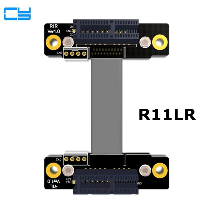 Riser PCI-Express PCI-E 3.0 x1 x4 x8 x16 Male to male Graphics card Extension riser PCIe Female to Female ribbon cable 5- 60cm 8g bps riser pci e pcie 3 0 x1 pci express male to pci e 1x male graphics card extension riser extender pci express ribbon cable