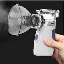 Inhalador nebulizador portátil para inhalación, Dispositivo ultrasónico de mano para cocinar al vapor, equipo médico, cuidado de la salud de bebés, hogar