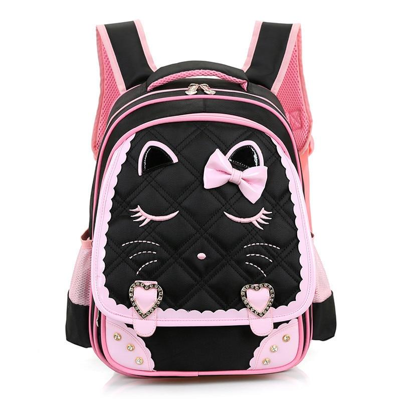 2018 New Orthopedic Princess Schoolbags Girls School Bags Primary Bookbag Mochila Infantil Children Backpack sac a dos enfant