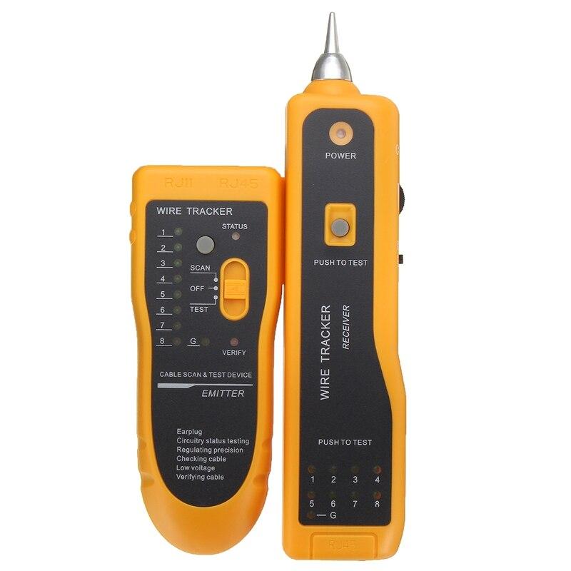Multi Функция кабель Тесты er Провода трекер Tracer сети RJ11 RJ45 Тесты инструмент LAN Тесты er детектор линии finder