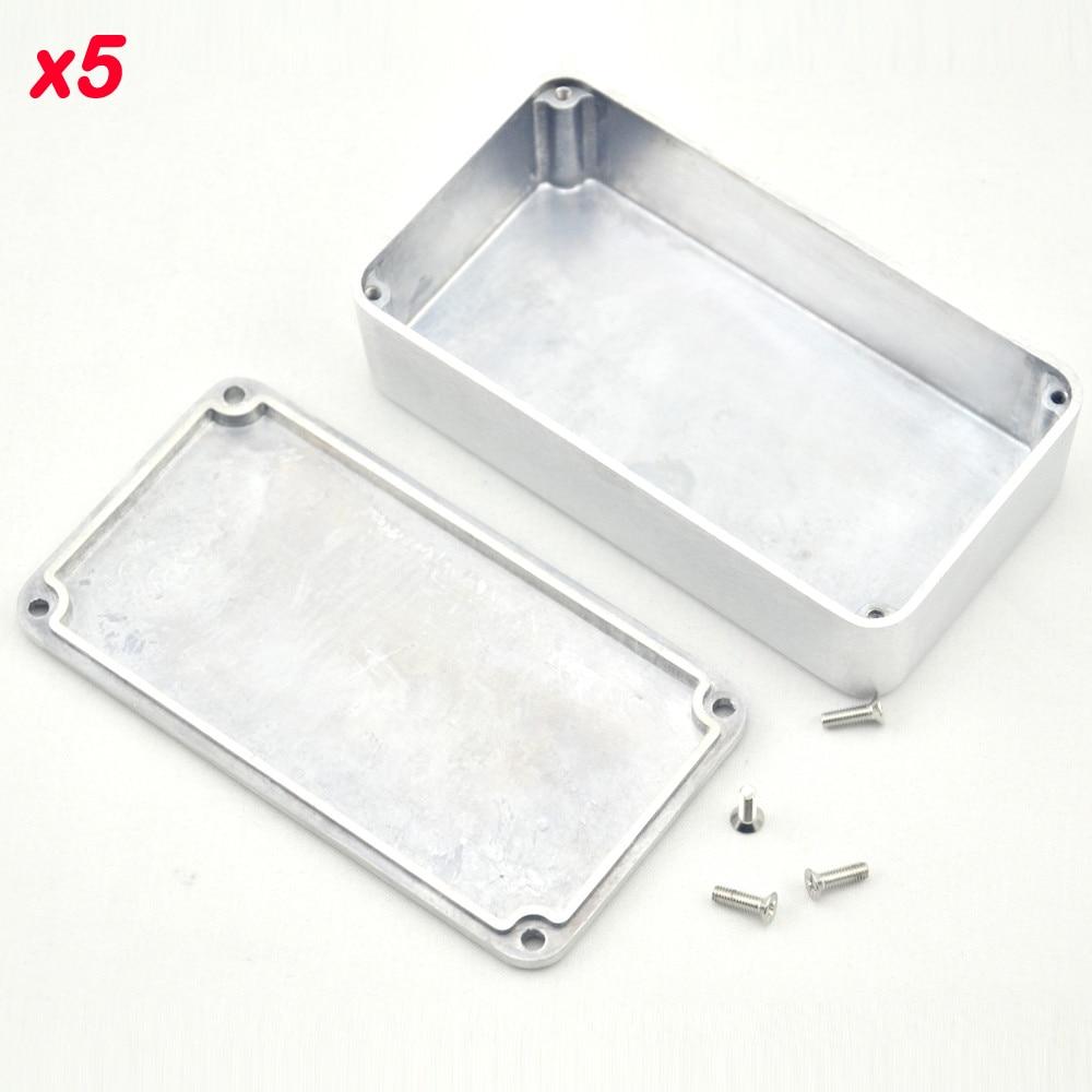 5 teile / los 1590b / stil gitarre effekte pedal aluminium stomp box - Musikinstrumente