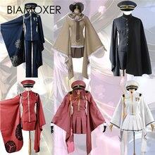 Biamoxer 6 styles Vocaloid Senbonzakura Miku Kagamine Rin Len Meiko Kaito Kimono Cosplay Costume s 2xl