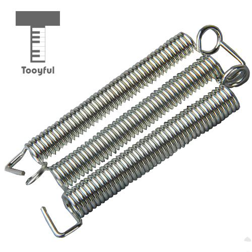 Tooyful Wholesale 3Pcs Guitar Steel Electric Tremolo Bridge Tension Springs for Professi ...