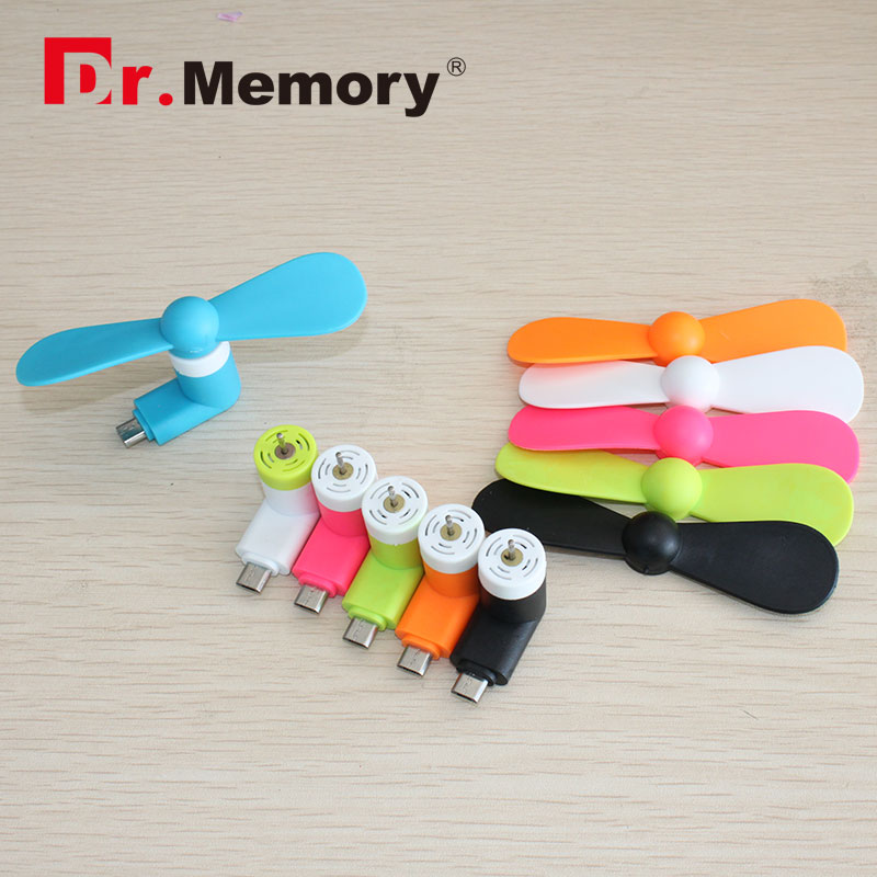 Usb-Fan Mini Removable Phone Huawei Android Xiaomi Samsung OTG for 2-Pins Put