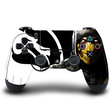 PS4 Controller Skin Mortal Kombat PVC HD PS4 Sticker Cover For PlayStation 4 Wireless Controller Skin PS4 Accessory