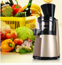 Free shipping 2016 new Slow squeezing technology HU 19SGM 43RPM Fruit Vegetable Citrus Juice Extractor 100