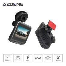 Azdome DAB211 Ambarella A12 2560×1440 P Super HD Автомобильный видеорегистратор видеокамера Встроенный GPS 2.31 дюймов ЖК Экран регистраторы ADAS