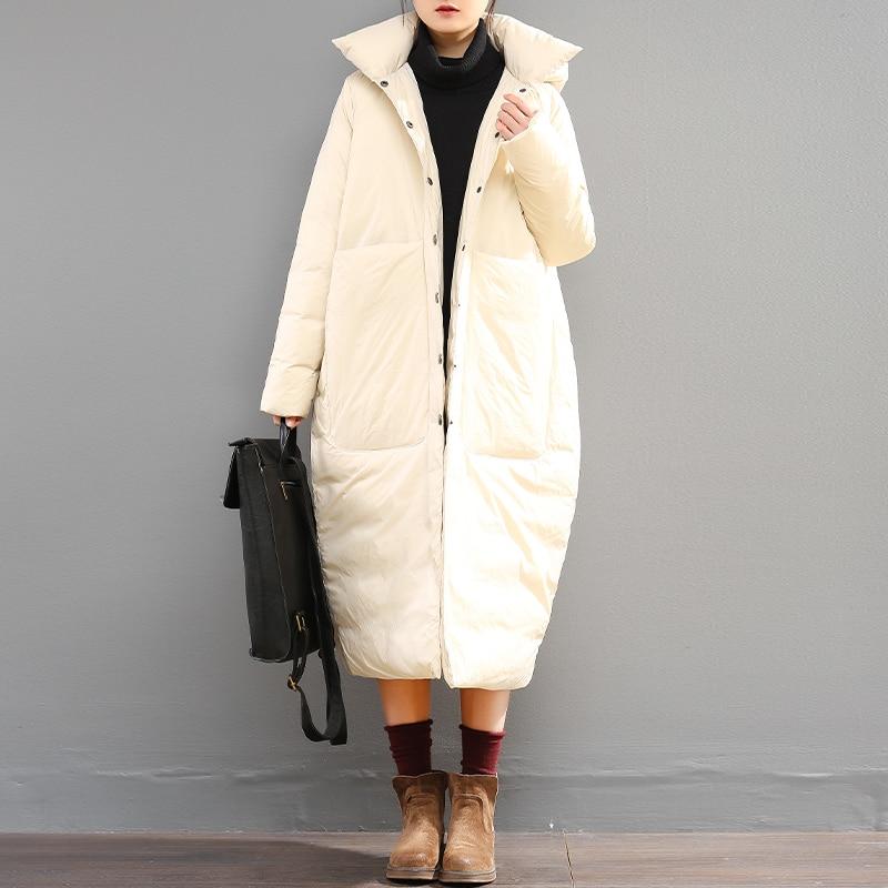 Simple Recueillir Veste Canard Grande Original De Cocon Femmes Type Duvet Et Printemps Design Causal Hiver Lâche Chaud Style 2018 Taille fRwEHqq