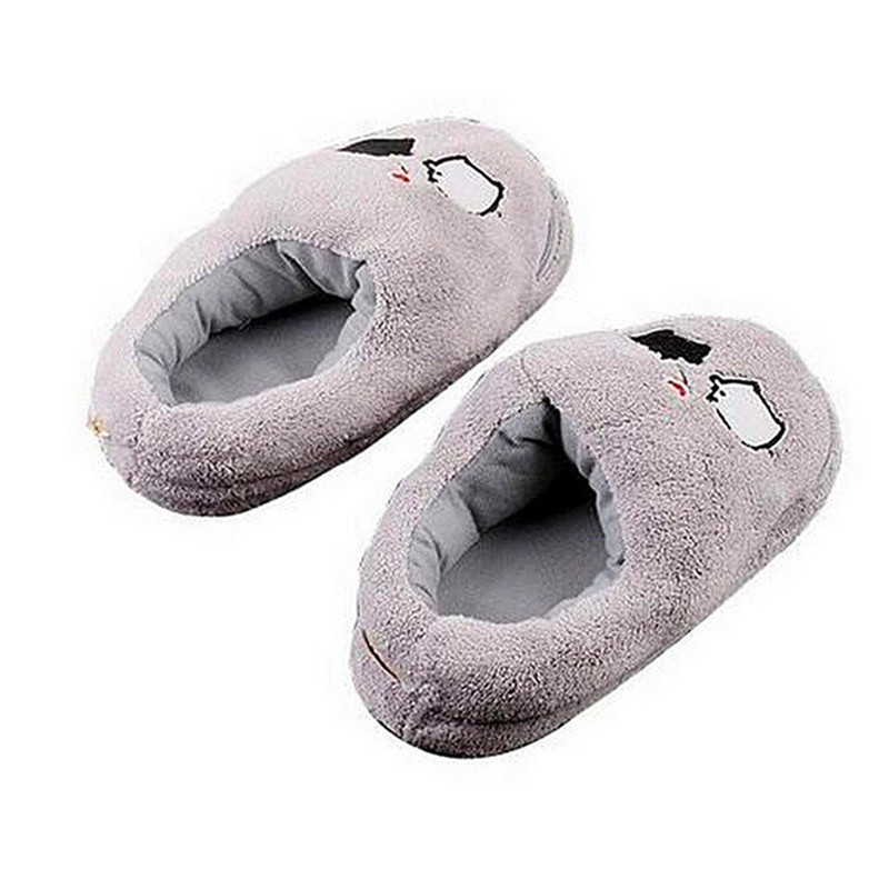 Электрические тепловые тапочки USB гаджет милый серый свинья плюшевый USB обогреватель для ног обувь|foot warmer shoes|warmer shoesusb gadget | АлиЭкспресс