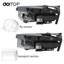 DOITOP 2Pcs Protector Cowl Lens Hood For DJI Mavic Professional Digital camera Lens Gimbal Solar Hood Shade Transport Flight Prop for Mavic Professional