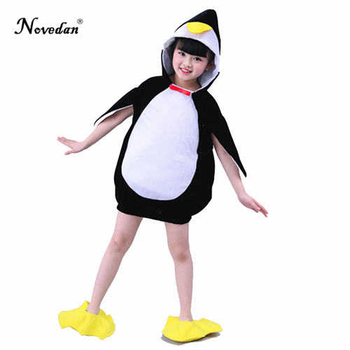 d0bce1a453af Penguin Animal Halloween Costume For Baby Infant Boys Girls Outfit Fancy  Dress Cosplay Outfits Clothings For