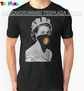 Queen Bitcoin Bandit Geek T Shirts For Men