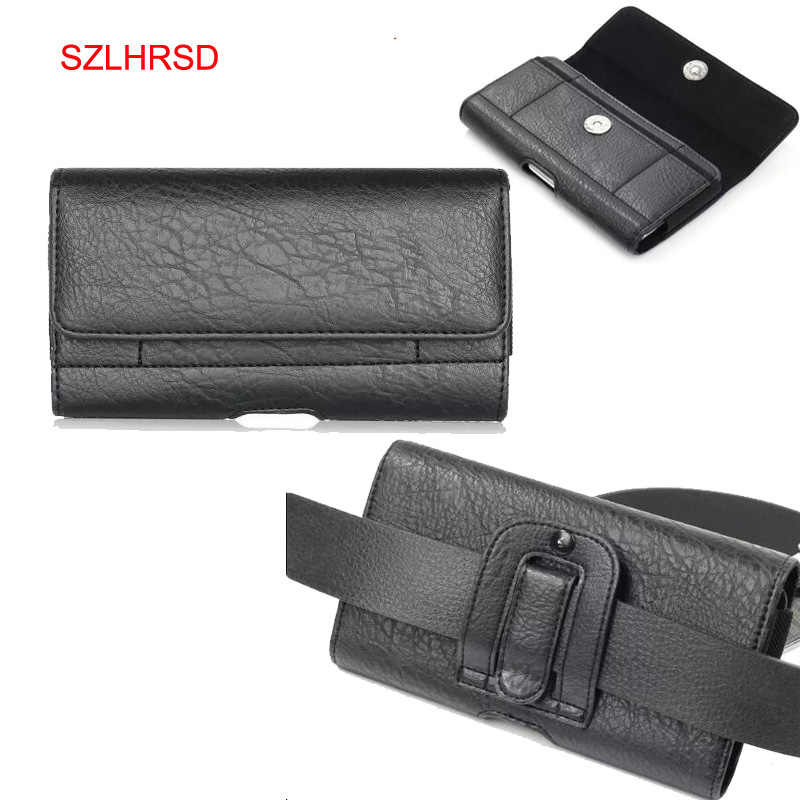 d0fd6a8438 ... SZLHRSD Classic Black Men's Waist Bag Phone Case Outdoor Protective Case  for Ulefone Armor X Caterpillar