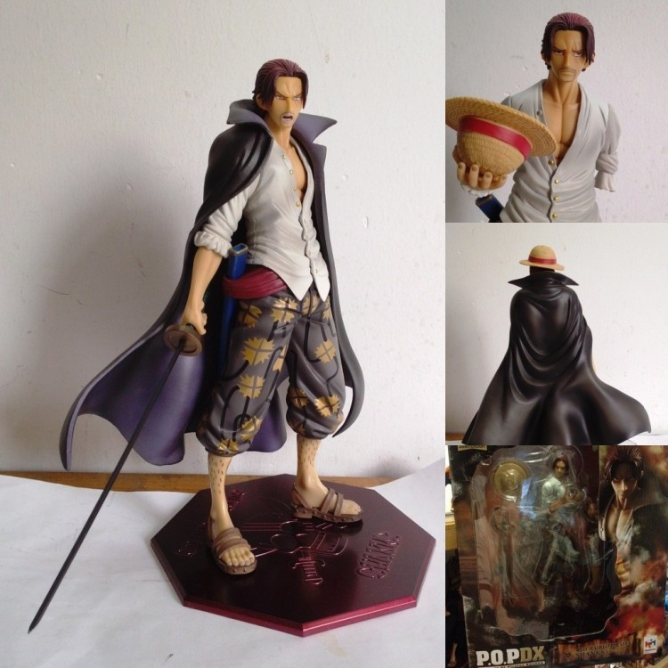 birthday gift Megahouse One Piece SHANKS LE ROUX POP NEO-DX Red Haired Shanks 1/8 ...