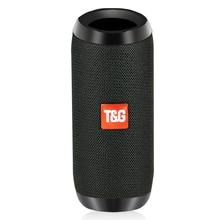 TOPROAD Altavoz Bluetooth 10W portátil inalámbrico estéreo columna tela altavoces impermeables exteriores soporte TF tarjeta FM Radio USB