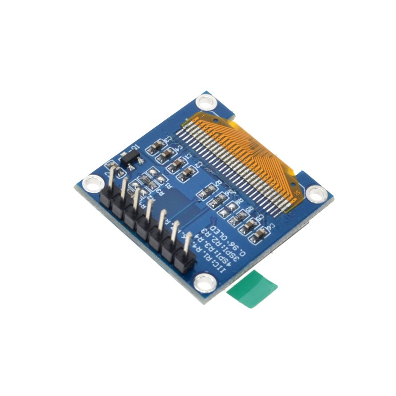0 96 Inch SPI OLED Display Module Blue color 128X64 OLED 7Pin Driver Chip  SSD1306 for arduino