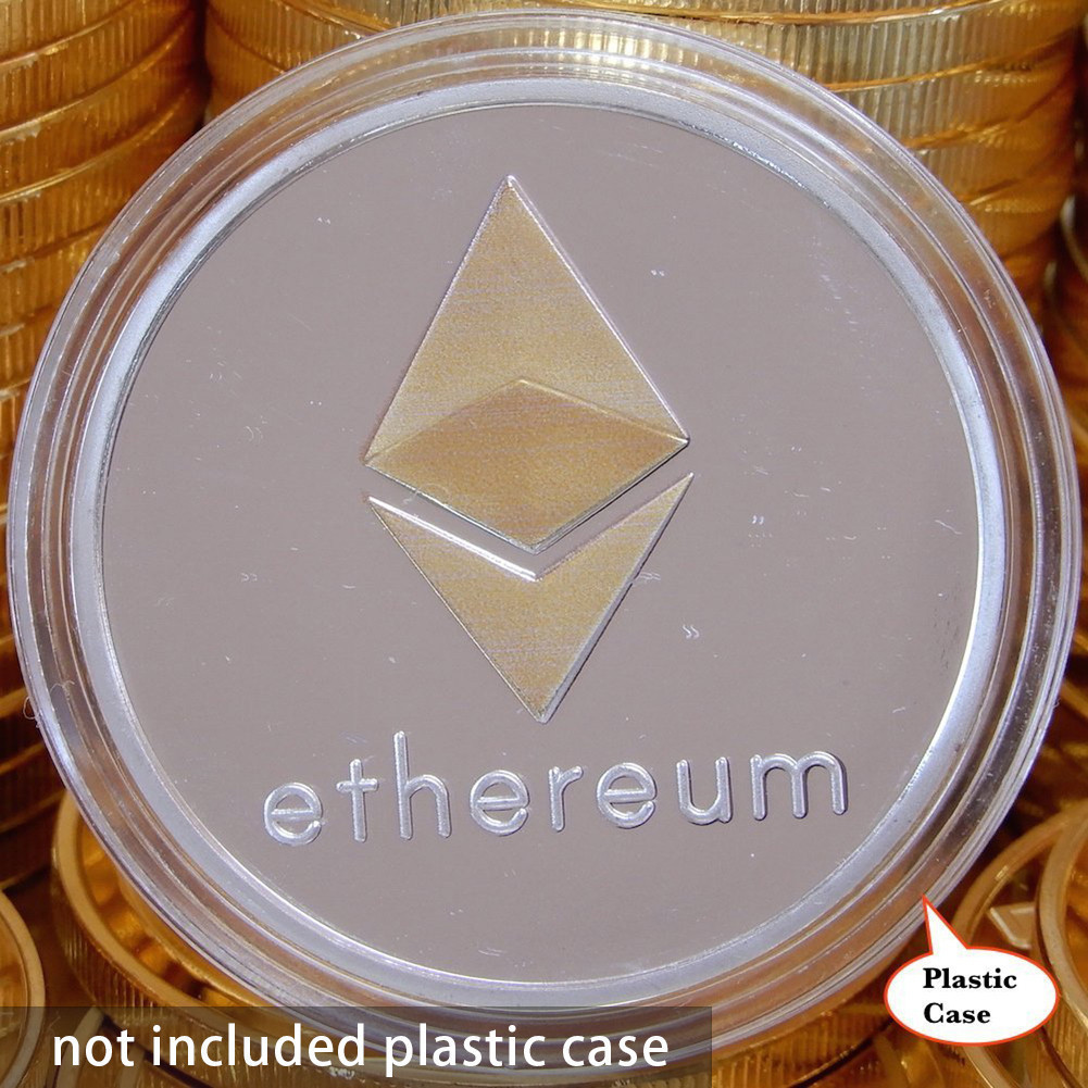 New Gold Plated Bitcoin Currency Coin Collection Physical Litecoin Gift Collection Art Antique Home Imitation  Party Decoration 4
