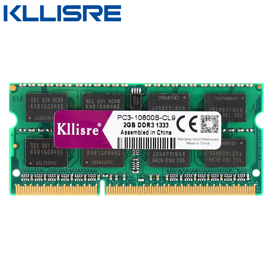 Kllisre Ram Laptop Ddr3 2gb 1333mhz Memory Notebook So Dimm In Rams 2 Gb From Computer Office On Alibaba Group