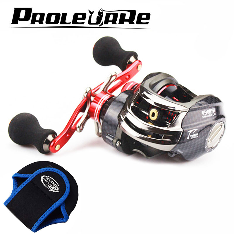 13+1BB Brand Saltwater Fishing Baitcasting Reel Left Right Hand Metal Spool Handle Bait Casting Reel Fishing Reel Carbon Reels baitcasting reels fishing reel bait casting 12 1 bb 6 3 1 baitcast reels left right hand for your option ea14