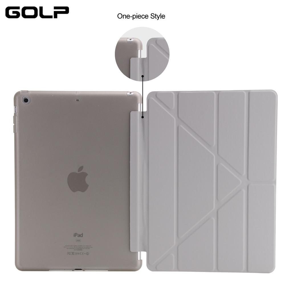 чехол для iPad с 9.7 2017, golp обвинение кожа magentic смарт-чехол мягкая вернуться тпу костюм чехол для iPad с 9.7 2017 a1822 a1823