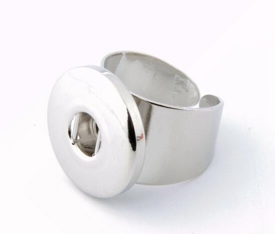 HOT sale DIY elastic fashion snaps ring for snap buttons fit 18/20mm snaps buttons charm jewelry