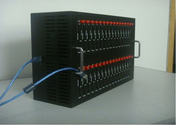 Bulk send sms 32 port modem pool Q2406 dual band
